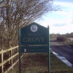 New Grove sign